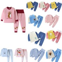 Clothing Sets Baby warm suit long Johns with cotton for boys and girls Various styles are available two-piece