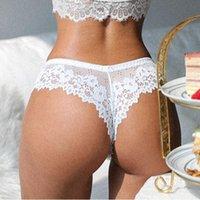 Women's Panties Women Sensual Lingerie Lace Sexy Underwear Thong See Through Erotic Comfortable