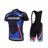 Erkek Bisiklet Önlüğü Jersey Seti Malciklo Nefes Bisiklet Giyim Bisiklet Sportwear Ropa Ciclismo Giysileri. DN010 yarış setleri