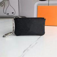 Женские кошельки сцепления ключ сумка на молнии кошельки монеты кожаные кошельки кошелек с коробкой пыли сумки