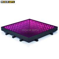 Infinity-Spiegel 3D-LED-Tanzbodenbühnen-Beleuchtungseffekt Wireless-Licht-Fliesen RGB 3in1 DMX-Steuerung für Events Nachtclubs