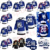 Tampa Bay Lightning 2021 Retro Retro Jersey Blake Coleman Pat Marloon Tyler Johnson Ryan McDonagh Yanni Gourde Hockey Jerseys Custom Steitche