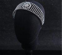 Wedding Bridal Crown Tiara Crystal Rhinestone Headband Korean Hairband Jewelry Party Prom Hair Accessories Headpiece Ornament Bling Fashion Headwear Headdress