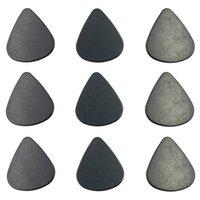 Newsmoking-Accessoires Dreieck schwarzer Kunststoffpollen-Schaber für Kräuter-Schleifschaufel Tabacco Guitar Pick EWE5941