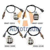 Набор 4 воздушного топлива соотношения кислорода датчик O2 полный подходит для 2001-2003 Toyota RAV4 89467-42010 89467-42020 89465-42090 89465-42100