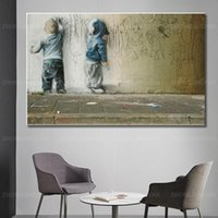 Paintings Banksy Art Graffiti Abstract Canvas Painting Posters And Prints Wall Picture For Home Decor Cuadros