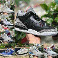 Air Jordan 3 Shoes retro jordans Nike Venta 2021 Moda 3s 3 Katrina Knicks Rivals JSP Tinker SP Negro Cemento UNC Blue Pe Mocha Airs Mens