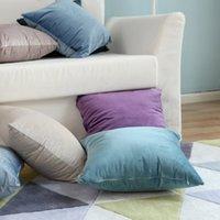 Stil Nordic Solid Samtkissenbezug Velvet Sofa Holländisches Kissen