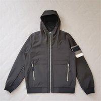 Fleece Mantener cálido chaquetas de hombres con capucha CALIDAD SUPERIOR Pareja Soft Shell Jacket Outdoor Sport Jogging Outerwear Simple Bording Bordge