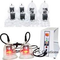 مطورة الكهربائية شفط كأس العلاج مدلك آلة فراغ مضخة لزيادة الثدي محسن
