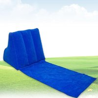Outdoor Pads Mattress Air Bed Portable Rest Leisure Folding Chair With Inflatable Pillow Lounger Cushion Camping Waterproof Beach Mat