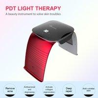 تجديد الجلد LED PDT الأزرق ضوء العلاج الأحمر آلة PDT أدى جهاز الفوتون