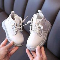 부츠 가을 겨울 유아 아기 아이들을위한 아기 봉제 스포츠 신발 소년 디자인 지퍼 로마 스노우 아이 슈 2021
