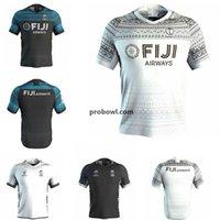 2020 2021 Fashion Fidji Accueil Jersey Rugby Sevens Shirt olympique Thaïlande Qualité 18 19 20 Fidji National 7 s Rugby Jersey S-3XL
