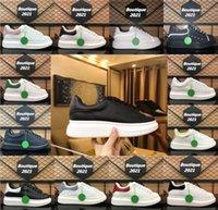 Projektant Luksusowy Platforma Płótno Dunks Mężczyźni Kobiety Przypadkowe Buty Mody Trampki Czarne Białe Skórzane Trenerzy Zamszowa Sukienka z pudełkiem 35-45