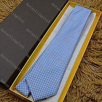 Men Classic Plaid Stripe Tie Mens Business Neckwear Skinny Grooms Necktie for Wedding Party Suit Shirt Casual Ties