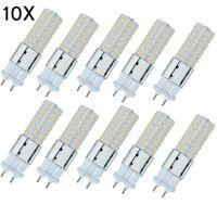 Луковицы 10x G12 LED Light 15W 96LED лампы 150 Вт Замена накаливания Накалинные огни Кукуруза для улицы 110V 220V