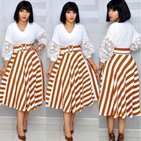 4Size (L XL XXL XXXL) 2019 Abiti africani per le donne / Lady Print Maxi Dress Dashiki Dress Gonna Gonna DressAfricaine Femmel1