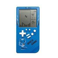 2021 Hot 3,5 pouces Rétro Portable Mini Portable Jeux de poche Joueurs Tetris Brique Jeu Main Toy Classic Nostalgique Decompression Jouet