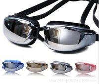 DHL 100 stücke Anti-Nebel Wasserdichte UV-Schutz-Rezept Optische Gläser Schwimmbrillen Myopie