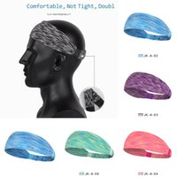 Confetti Color Unisex Sports Headband Quicky Dry Sweatband Yoga Gym Hairband Wide Elastic Hair Wraps Outdoor Running Fitness Sweat Head Bands Tiktok Wear L729O78