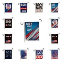 Joe Biden Flag for President Yard Flags Double Sided American Presidents Election Sign Garden Banner Lawn Decoration