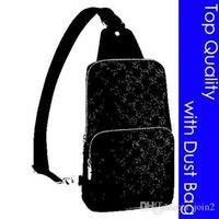 LouisLvTop Qualität N41719 N41720 Avenue Sling Bag Designer Mode Herren Kreuz Körper Sling Leinwand Leder Sporty Casual Messeng PZQ