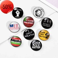 Black Lives Matter Brooches Enamel Pin I Have A Dream Lapel Clothes Bag Jewelry DIY Badge