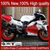 Yamaha TZR-250 TZR250 TZR 250 R RS RR RR 88 89 90 91 ABS BODYWORK 31NO.65 YPVS 3MA TZR250R TZR250RR 1988 1989 1990 1991 White Blk Red TZR250-R 88-91 Moto Body