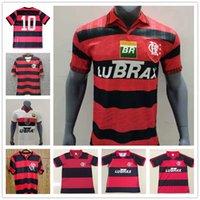 CR 2004 Flamengo Retro Jersey Jersey Flamenco 2008 Camisa de Futebol Guerrero Diego Camisa de futebol Maillot s-2xl