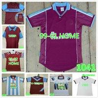 1991 1992 1995 1997 Dicks de qualité 3 Century Soccer Jersey Years Cole di Canio Lampard Lampard 1999 00 Camiseta 100 e chemise de football rétro