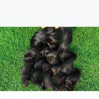Unprocessed Curly Braiding Human Hair 3 Bundles Deal Cheap Brazilian Loose Wave Hair Extensions In Bulk For Micro Braids Top Bulk Hair