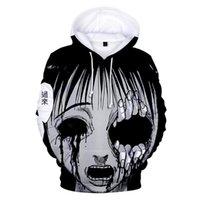 Men's Hoodies & Sweatshirts Dos Desenhos Animados Junji Ito Hoodie 3d Impressão Streetwear Masculino feminino Engraçado Com Capuz Harajuku P