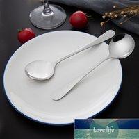Aço Inoxidável 10 / PCS Colher Pratos Conjuntos Dinnerware Longa Cutelaria Cutelaria Cozinha Cozinhar Talheres de Talheres de Tableware Products