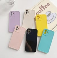 Silicone Soft Shockproof Cell Phone Cases For iPhone 13Mini 13Pro 12 12Pro XR X XS Max 11Pro 7 8Plus SE2020 Protection Back Cover Coques
