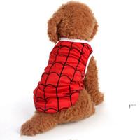 Haustier Hund Westen Polyester Atmungsaktiv klein Hund T-shirts Gedruckt Welpen-Hemd Sommer Hund Kleidung Haustierbekleidung XS S M L XL FWE6065