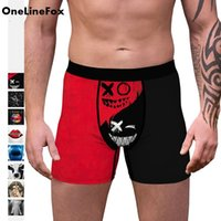 Quick Drying 3D Printed Boxer Shorts Underpants Sport Men's Panties Men Underwear For Male Couple Sexy Set Large Size Soft