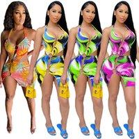 Оптовые сексуальные женские платья один кусок набор мини-платья повседневная юбка высокого качества элегантный роскошный клуб носить женщин летняя одежда KLW6551