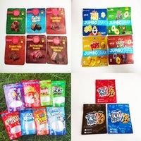 Canna Butter 600mg Infundierte Brownie Bisse Edibles Verpackung Mylar Taschen Rote Samt Chewy Caramel Funfetti Brownies Schokolade