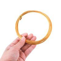 2-10メートル0.6~3.0 mm色の宝石のための丸いアルミニウムワイヤーのための丸いアルミニウム線ブレスレットクラフトDIYアクセサリーを供給する卸売1682 Q2