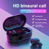 TWS Earbuds Bluetooth Wireless Headphones Earphone HiFi Sound Binaural Call Earpieces V5.0 Sport Headset LED Display L22