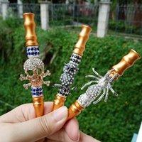 Mini gioielli animali mini narghilè per fumare pipes pipes arabo shisha tips in lega materiale mothecings