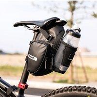 Rhinowalk Bike Saddle Сумка с водой Бутылка Кармана Водонепроницаемый Задний Велосипед Сделайте сумки Сумки Большой Объемный Хвост 2021 Прибытие