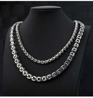 Necklace Metrosexual Street voice, red tiktok, small country, same style, necklace, tide, male character, chain of clavicle,