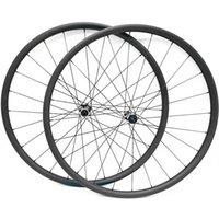 Roues à vélos 27.5er Disque VTT en carbone Tobeless 30x24mm Asymétrie Pull D411SB / D412SB 100x15 (10) 142x12 1423