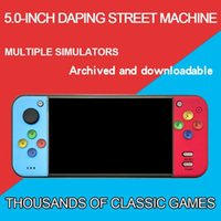 "Mini 5"" Retro Game Console 360° Joystick Handheld Machine Host TV Output Q81F Portable Players"