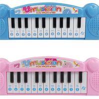 مايكرو الإلكترونية لوحة المفاتيح البيانو أداة مبتدئين الطفل الموسيقى الطفولة المبكرة اللعب فتاة الرضع صغير البيانو للأطفال فتاة 724 X2