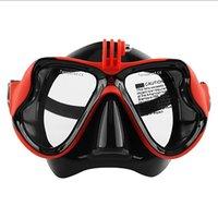 Anti-nebulgem máscaras de mergulho temperado espelho de vidro líquido gel