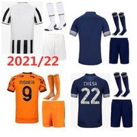 21 22 الرجال + الاطفال كيت كرة القدم الفانيلة 2021 2022 المنزل بعيدا 3rd الكبار الطفل مجموعة مايلوت دي القدم مخصص اسم القميص قميص قصير