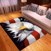 Carpets Animals Coffee Table Area Rugs Bird Print Anti Slip Carpet Bedroom Decor Floor Mats Welocme Entrance Doormats Home Kitchen